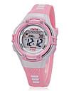 Copii Ceas Sport Ceas de Mână Ceas La Modă Quartz LCD Silicon Bandă Casual Negru Alb Pink