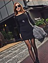 Femei de moda Bodycon Cut-Out Mini Wrap Dress
