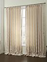 (två paneler) modern romb av löv energibesparing gardin
