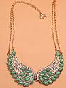 Dame Guler Aripi / Pene Cristal Diamante Artificiale Aliaj costum de bijuterii La modă bijuterii de lux Bijuterii Pentru Petrecere Zilnic