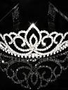 Kadın Yapay Elmas Kristal Başlık-Düğün Özel Anlar Taçlar