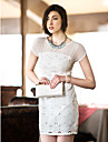 TS Cutout embroideried Slim Dress