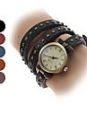 pentru Doamne Ceas La Modă Ceas Brățară Quartz Bandă Vintage Boem Negru Albastru Roșu Maro Khaki