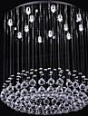 lux sl® șirag de mărgele de cristal 13 lumini candelabru în formă rotundă