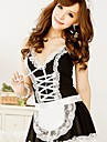 Femei Lenjerie sexy Housemaid roaba uniforme Cosplay Costum cu Lace Trim
