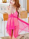 BaiYiBaiShun ™ femei Lenjerie Plus Size Sexy Dress cămașă de noapte transparent