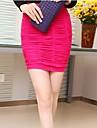 femei sexy culoare bomboane mini bodycon șold fusta