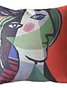 Picturi celebre lucrează în două decorativa pernă Cover