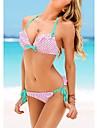 Glamour Sexy Girl Wave de apă Punctul de Bikini Costume de baie