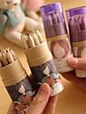 desene animate model fată de 12 de culori pictura creion (12 buc / set)