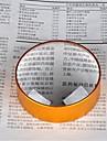 gyllene 5x 75mm metall handen närbild förstoringsglas för att pressa papper och dokument