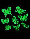 lumieres maison romantique de nuit absorptiometrique autocollants-papillon