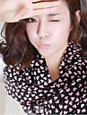 Ms. 2014 New Winter Long Chiffon Silk Scarf Velvet Scarves Peach Heart