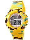 pentru Doamne Ceas La Modă Ceas digital Ceas de Mână Quartz Piloane de Menținut Carnea PU Bandă Vintage Negru Albastru Verde Pink Yellow