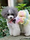 Chien Robe Vetements pour Chien Cosplay Mariage Noeud papillon