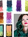 Extensions de cheveux humains Haute qualite Ondule Classique Femme Quotidien
