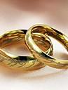 Pentru femei Inele Cuplu Modă Oțel titan Costum de bijuterii Nuntă Petrecere Zilnic Casual