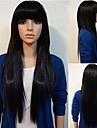 longs cheveux cosplay perruque synthétique complet