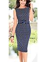 Bali de moda sleevless buline silm rotund rochie de cauzalitate