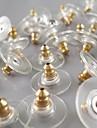 Pentru femei Închizătoare Cercel  Clasic costum de bijuterii Placat Auriu Round Shape Bijuterii Pentru Zilnic Casual