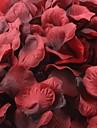 mörkt röda och svarta rosenblad bordsdekoration (sats om 100 kronblad)