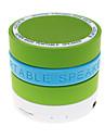 Obuwie turystyczne / Wewnątrz / Bluetooth Bluetooth 2.0 3,5 mm AUX / USB Głośnik zewnętrzny Zielony / Niebieski / Różowy