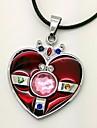 Smycken Inspirerad av Sailor Moon Cosplay Animé Cosplay-tillbehör Dekorativa Halsband PU läder Legering Dam Ny