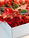 1 st julklappar ros form tvål blommor
