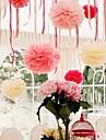 8 pouces fleur de papier decorations de fete - jeu de 4 (plus de couleurs)