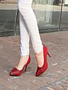 Imitație de piele pentru femei Stiletto toc Pompe Cap-toe / toci pantofi (Mai multe culori)