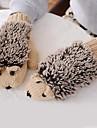 Women's  Hedgehog Shaped  Imitation Fur Knitting Wool Warm Gloves
