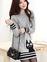 Yedda iarnă coreeană pisica casual, model tricot pulover 506804gray