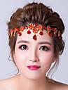 Femei Aliaj Zirconiu Cubic Diadema-Nuntă Ocazie specială Lănțișor de cap