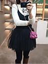 vogă bretele dulce rochie grenadine negru
