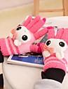 touch screen desen animat imbinate complet mănuși de cald pentru femei