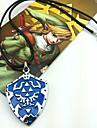 Bijuterii Inspirat de The Legend of Zelda Cosplay Anime/ Jocuri Video Accesorii Cosplay Colier Albastru Aliaj Bărbătesc