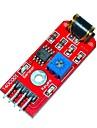 keyes 801s vibrationssensormodul - röd (dc 3 ~ 5v)