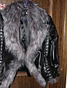 Coko Faux Fur Short Type Long Sleeve Coat