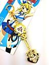 Bijoux Inspire par Fairy Tail Cosplay Manga Accessoires de Cosplay Colliers decoratif Alliage Femme chaud Deguisement d\'Halloween