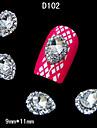 10 Bijoux a ongles Autres decorations Fruit Fleur Abstrait Classique Dessin Anime Adorable Mariage Quotidien Fruit Fleur Abstrait