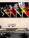 Stretchad Kanvastryck Stilleben En panel Vertikal Tryck väggdekor Hem-dekoration