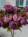 Gren Silke Plast Pioner Bordsblomma Konstgjorda blommor