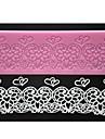 patru-c culori dantelă tort relief inima mat dantela silicon pad mucegai roz