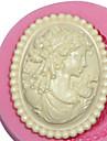 Cameo de sex feminin mucegai silicon mucegai femeie silicon pentru fondant pasta de guma FIMO& ciocolata sm-473