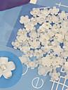 Blomma/Bröllop - Finger/Tå - Nagelsmycken - av Plast/Andra - 10 - styck 7X4X0.5 - cm