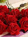 ramură Mătase Plastic Trandafiri Față de masă flori Flori artificiale
