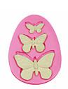 3 gaură tort fluture silicon mucegai decorare silicon mucegai pentru fondante meserii bomboane bijuterii PMC rășină lut