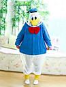 Kigurumi Pijamale Rață Costume Coral Fleece Kigurumi Leotard / Onesie Cosplay Festival / Sărbătoare Sleepwear Pentru Animale Halloween