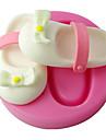 patru-c matrițe ciocolată 3d matrite copil fondante decorare tort, instrumente de fondant de decorare gradina de culoare roz
