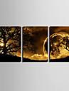 Impression sur Toile Ensembles de Toile Paysage Format Vertical Imprime Decoration murale Decoration d\'interieur